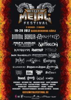 Gefle Metal Festival poster