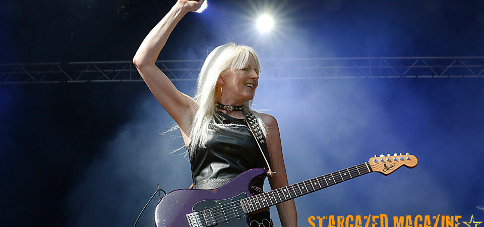 Girlschool @ Sweden Rock Festival 2018