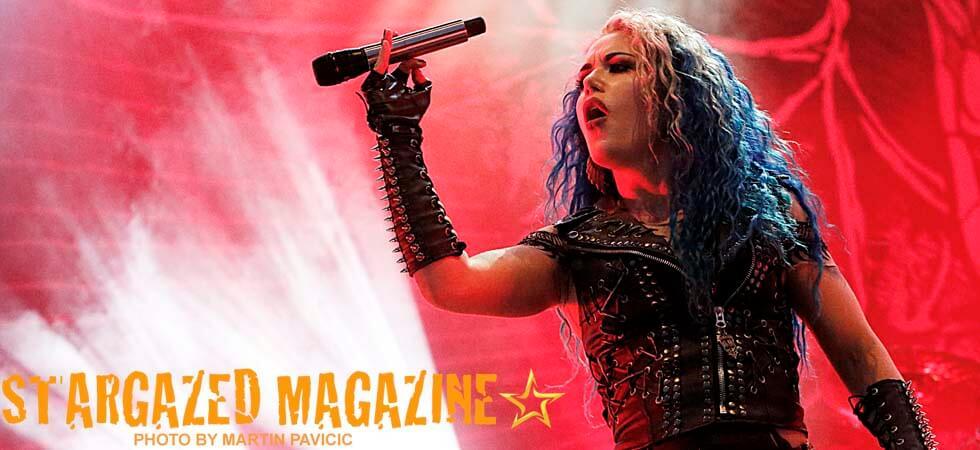 Arch Enemy @ Helgeåfestivalen 2018.