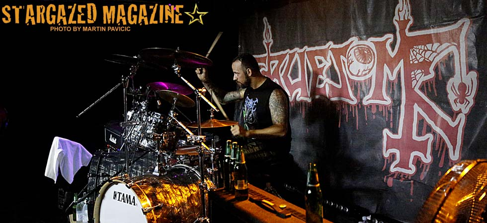 Gruesome – awesome death, very alive.