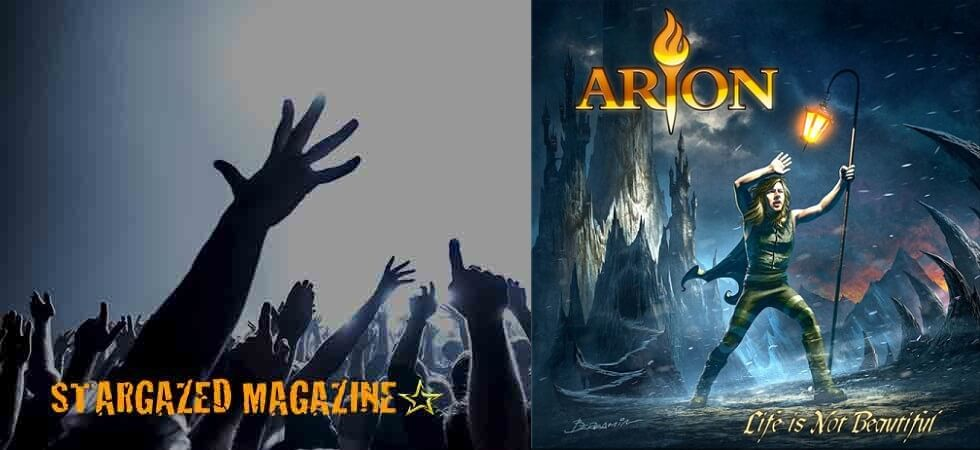 """New single video """"Unforgivable"""" with melodic metal band Arion from upcoming AFM album """"Life Is Not Beautiful"""""""