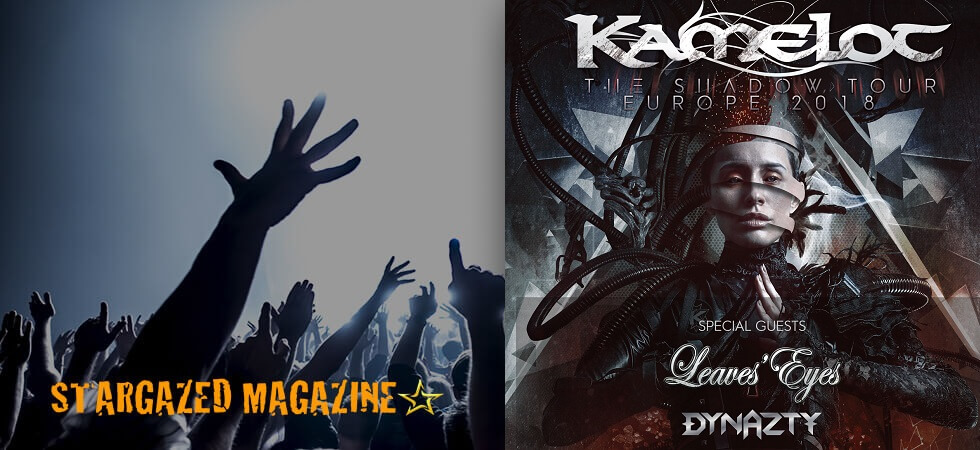 Stockholm tomorrow! Kamelot, Leaves Eyes and Dynazty in concert!