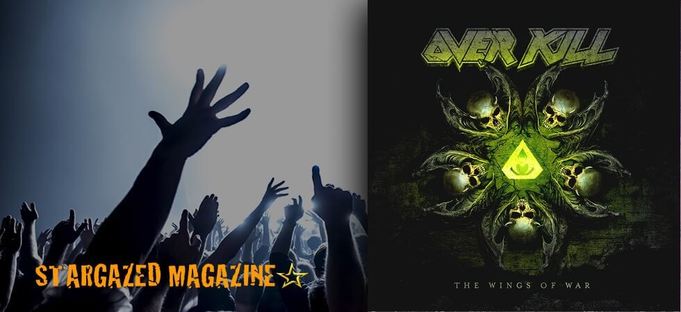 "Album cover and song titles revealed for Overkill album ""The Wings Of War"""