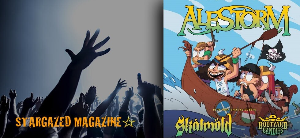 Alestorm, Skálmöld and Bootyard Bandits will tour Sweden together. Tickets out now!