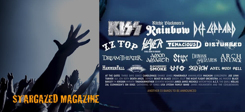 Sweden Rock Festival announces more bands for 2019, including Slayer, Dream Theater, Styx and UFO!
