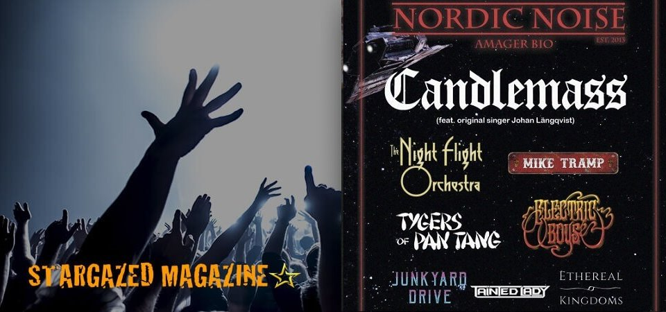 Candlemass to headline Nordic Noise Festival