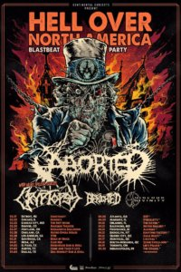 Aborted - Hell Over America