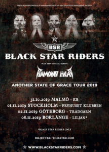Black Star Riders tour poster