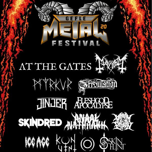 Mayhem Festival 2020.News 13 Bands Announced For Gefle Metal Festival 2020