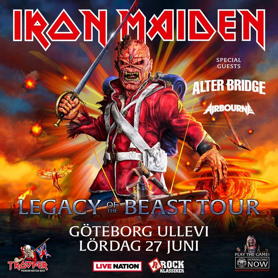 Iron Maiden - Legacy Of The Beast Tour 2020