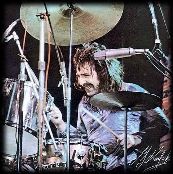 Uriah Heep Drummer Lee Kerslake 1947 2020 Remembered For Living Loud With Ozzy Osbourne